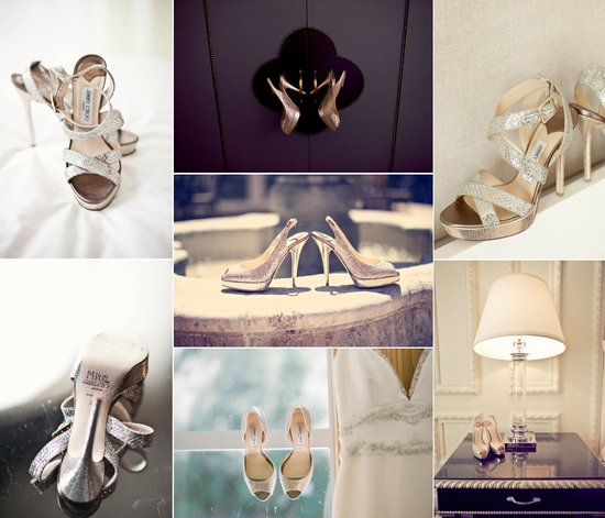real wedding photos jimmy choo wedding heels