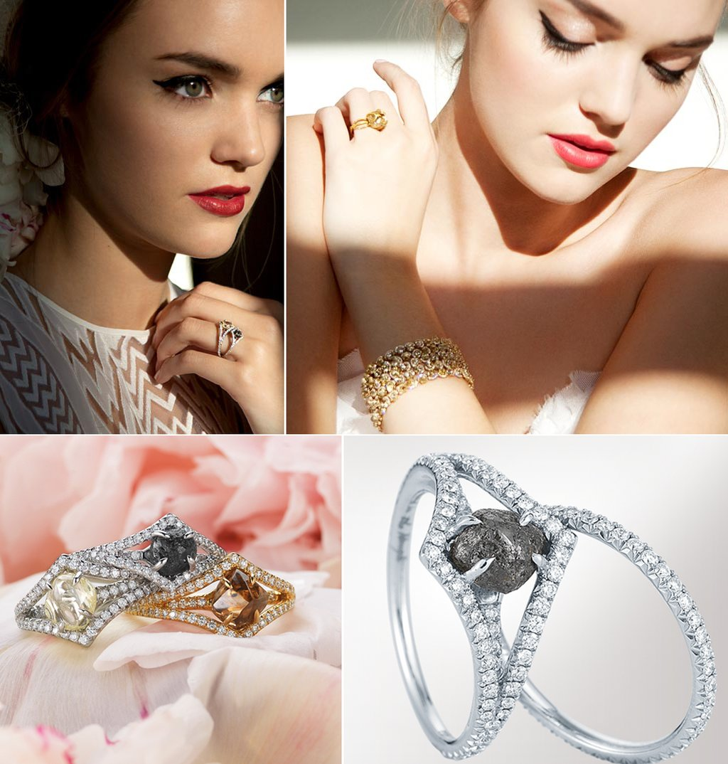 Unique-wedding-engagement-rings-diamonds-in-the-rough-vintage-inspired.full
