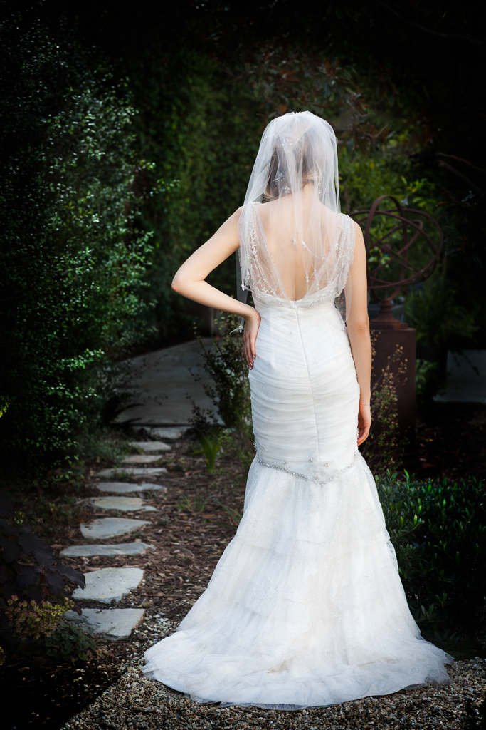 photo of cocoe voci wedding dress spring 2012 alyce