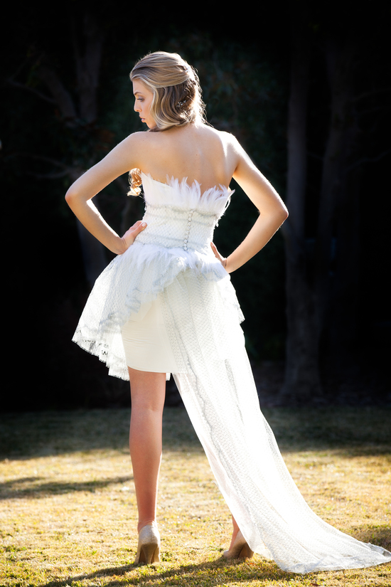 photo of cocoe voci wedding dress spring 2012 zoe