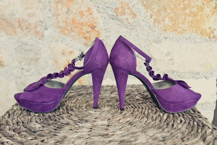 Purple Bridal Shoes Low Heel 2014 UK Wedges Flats Designer Photos Pics Images Wallpapers