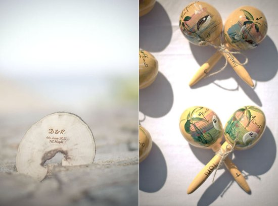 cultural wedding favors personalized beach wedding