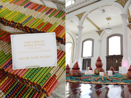 indian wedding guest favors colorful