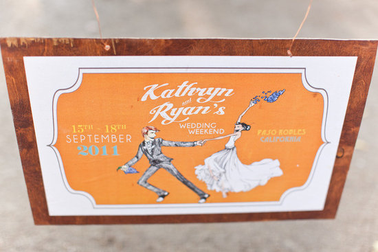custom wedding sign vintage inspired