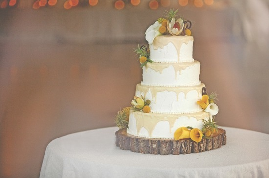 nature inspired wedding cake same sex marriage