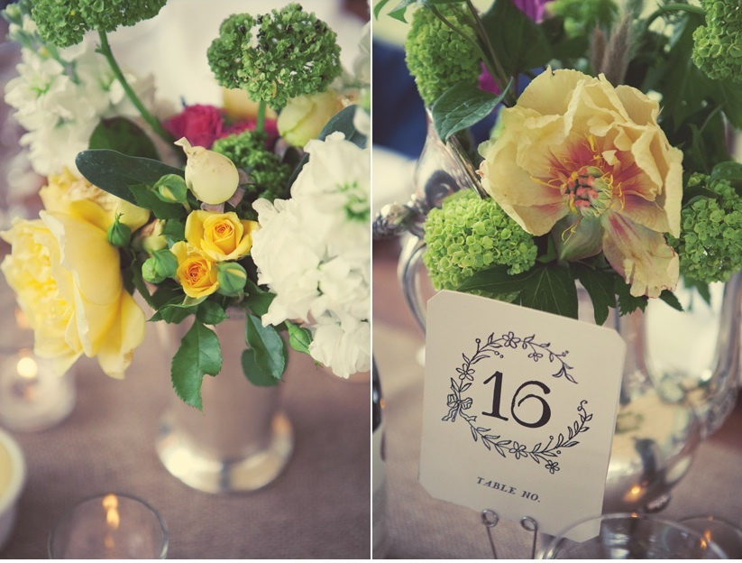 Wedding-reception-table-numbers-vintage-inspired-wedding-photography-bright-wedding-blooms-centerpieces.full
