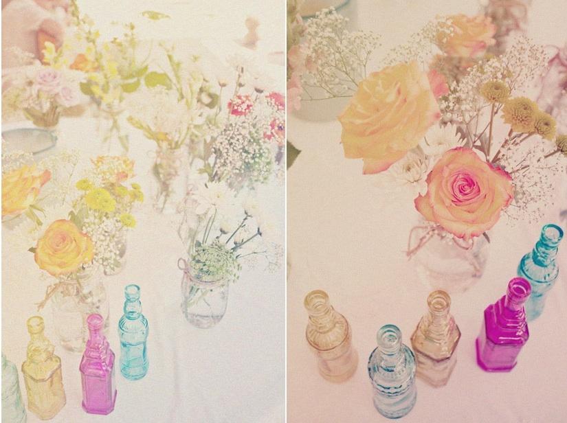 Vintage-wedding-tabletop-reception-decor-wedding-flower-centerpieces.full