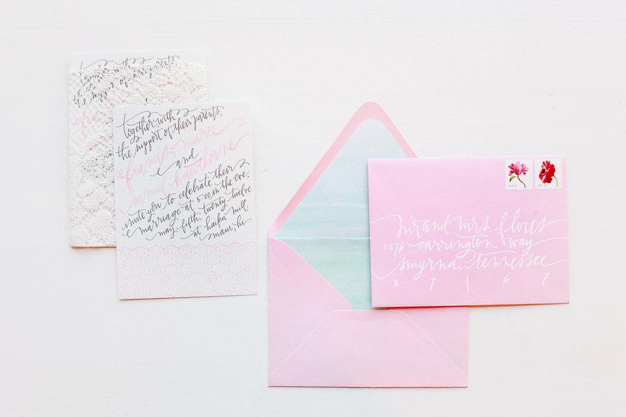 Light-pink-wedding-invitation-envelopes-modern-calligraphy.full