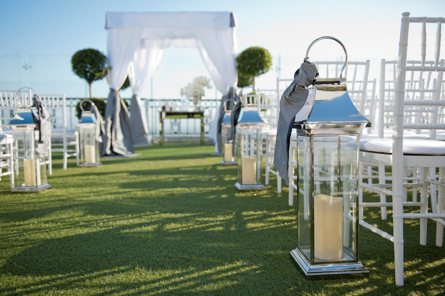 Simple Outdoor Ceremony Decorations: Outdoor Wedding Ceremony Simple Decor