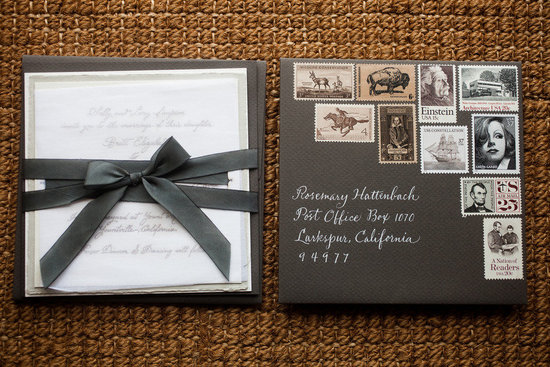 vintage inspired wedding invitations