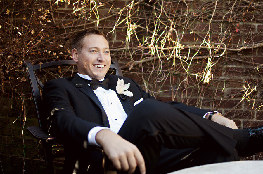 Black-tie-groom-classic-tux-orchid-boutonniere.full