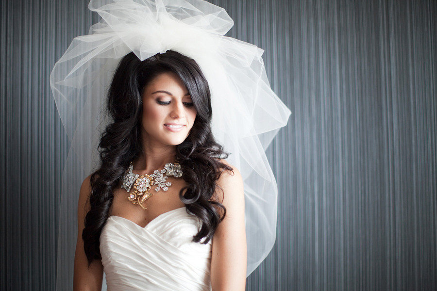 Bride-wears-statement-bridal-necklace-haute-couture-wedding-veil.full