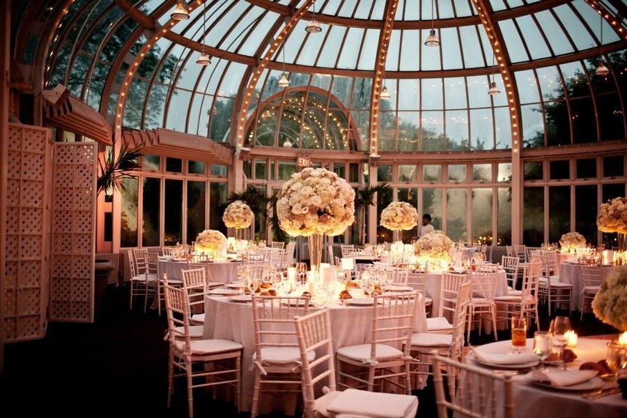 Romantic Wedding Venue Reception Centerpieces Decor