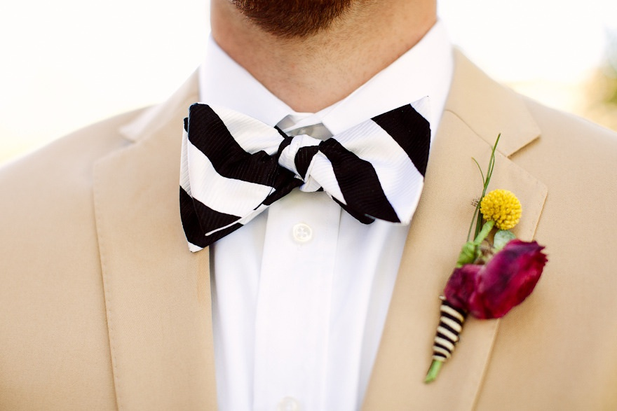 Dapper-groom-black-white-striped-bow-tie.original