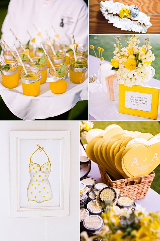 photo of Light Up Your Wedding with Lemon Yellow