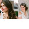Bride-wears-two-wedding-hairstyles-all-down-up-with-birdcage-veil.square