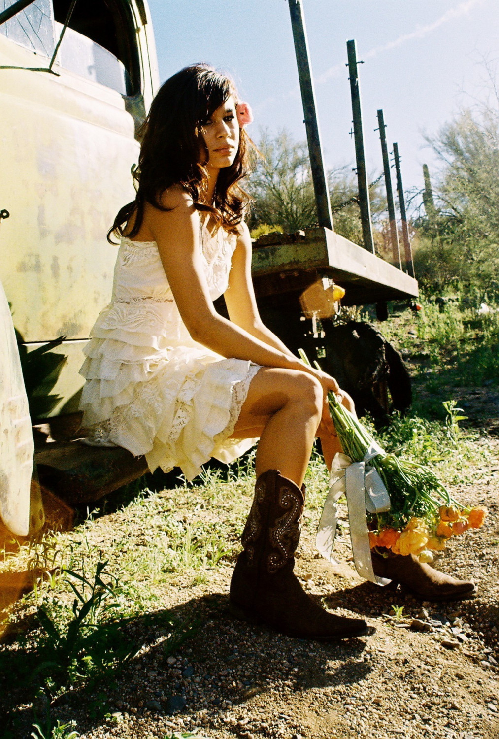 Wedding-themes-country-western-chic-little-white-wedding-dress.full