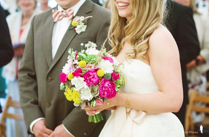 Colorful-bridal-bouquet-hot-pink-green-yellow-white-wedding-flowers.full