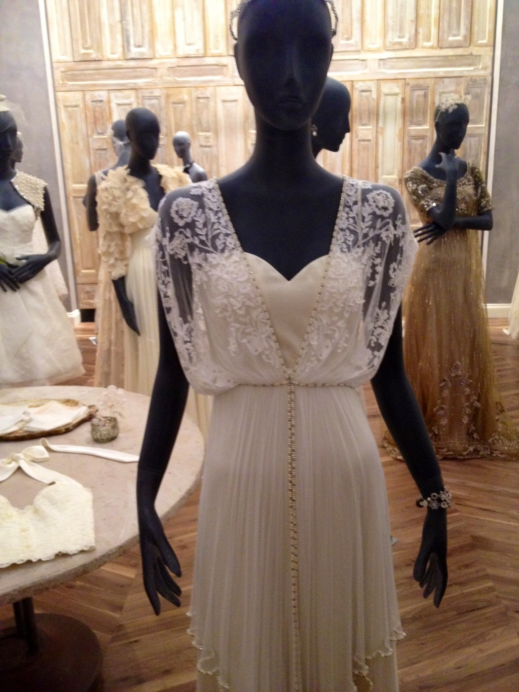 wedding news BHLDN bridal boutique opens in Chicago gown salon
