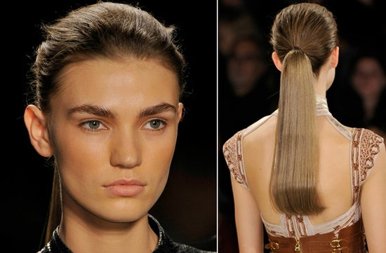 WEDDING HAIR MAKEUP INSPIRATION BRIDAL BEAUTY FALL 2012 Herve Leger