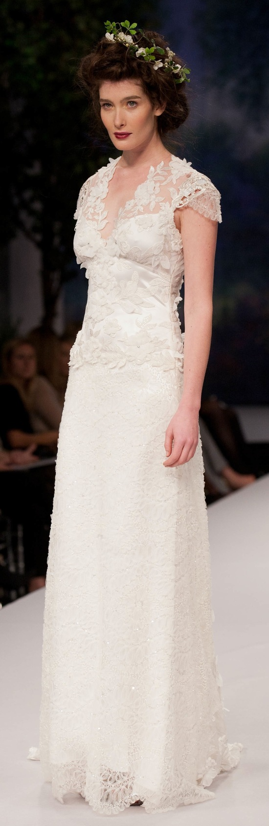 spring 2012 wedding dress claire pettibone belle