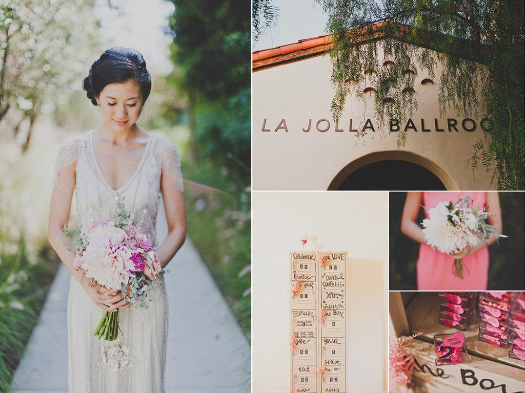 Romantic-bride-california-wedding-outdoors-pink-bridal-bouquet.full