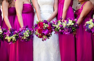 photo of Magenta Wedding Inspiration