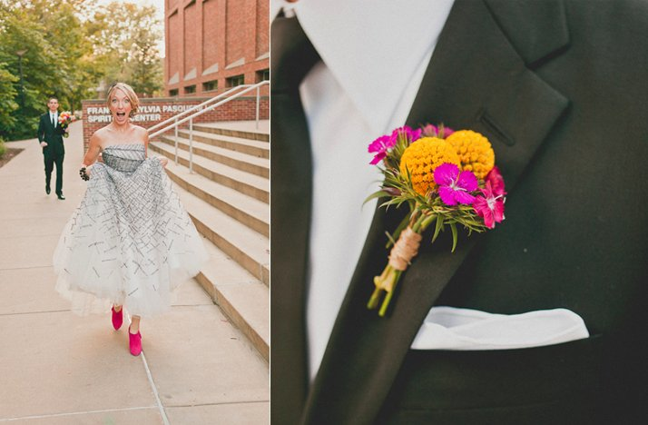 Magenta-bridal-boots-christian-louboutin-handsome-groom-black-suit.full