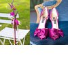 Magenta-wedding-shoes-satin-outdoor-ceremony-wedding-flowers.square