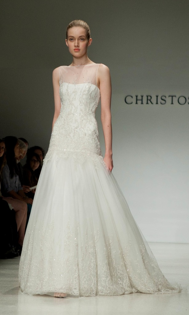 photo of 2012 wedding dress christos bridal gowns 0523