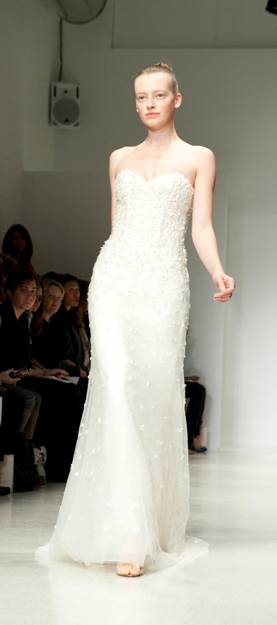 photo of 2012 wedding dress christos bridal gowns anais