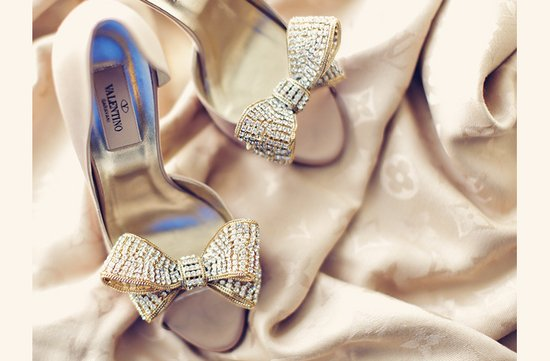 beaded bridal heels valentino