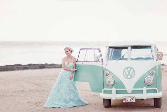 ice blue wedding dress 2012 wedding trends beach bride