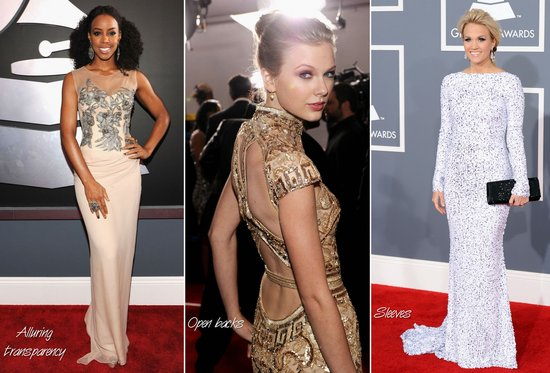 3 Wedding Dress Trends of 2012 Highlighted at 2012 Grammy Awards