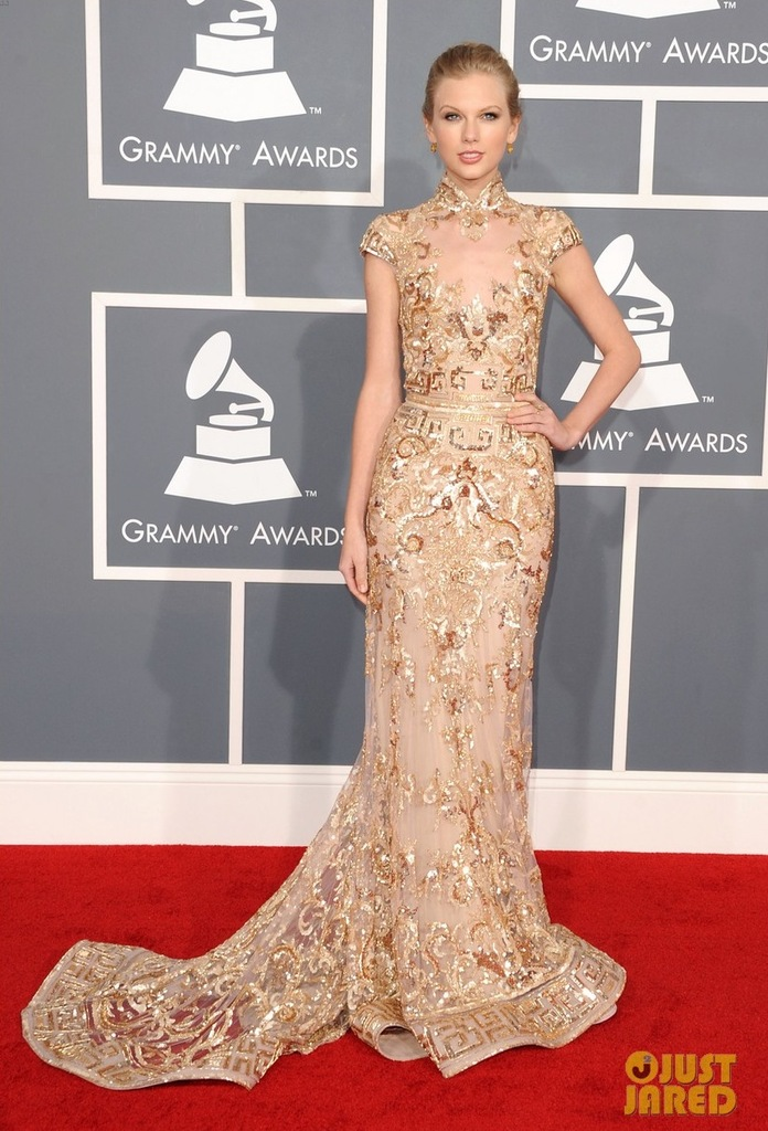 photo of From Red Carpet to White Aisle: Five Favorite Dresses at 2012 Grammys