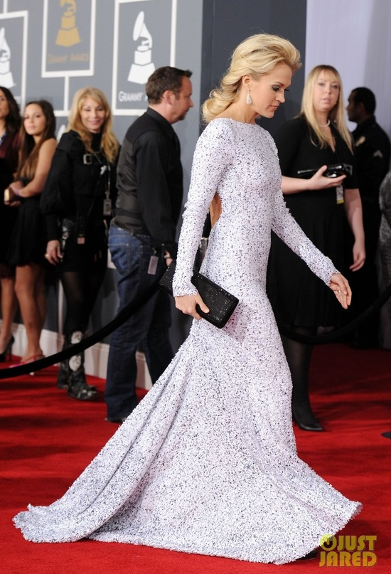 carrie underwood grammys 2012 wedding dress inspiration