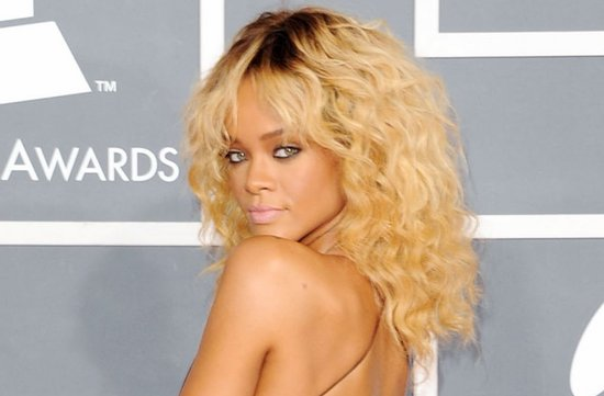 2012 grammys wedding hair makeup inspiration rihanna