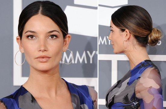 2012 grammys wedding hair makeup inspiration lily aldridge