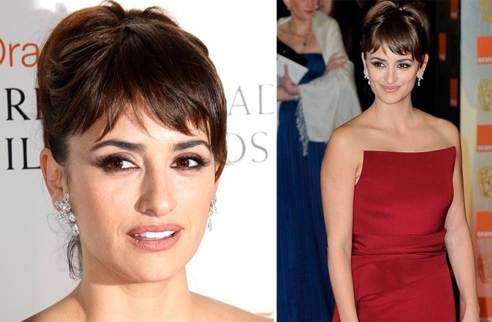 2012 bafta awards wedding hair makeup inspiration from red carpets penelope cruz