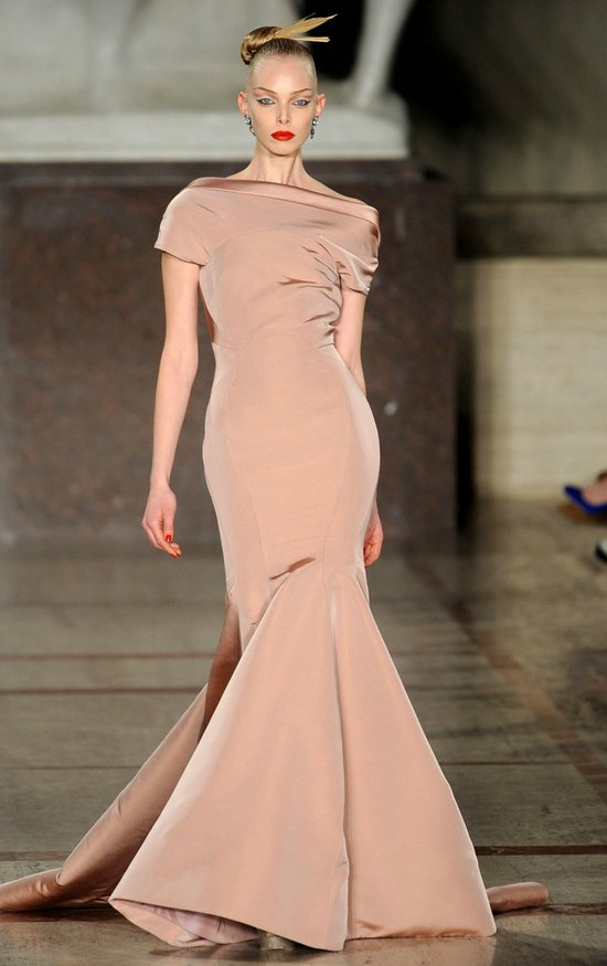 2012 wedding dress inspiration by Zac Posen