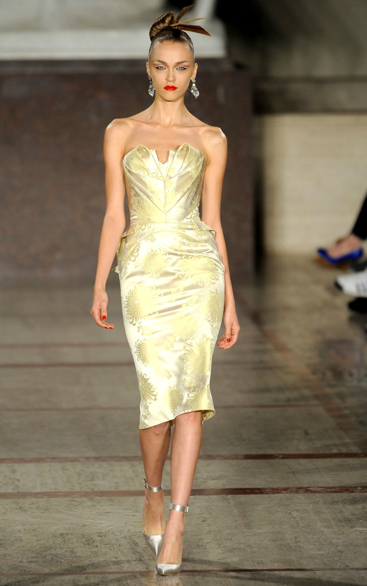Zac posen wedding reception dress fall 2012 rtw Dresses for wedding reception