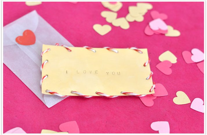 DIY wedding projects valentines day inspiration