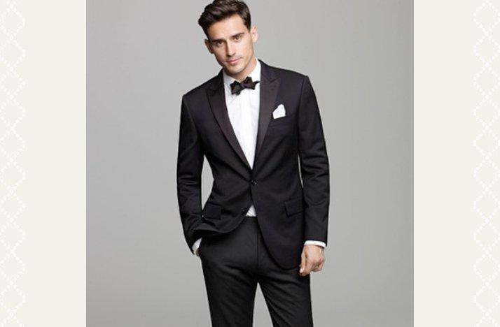 Black Tie Groom Mens Formalwear Elegant Weddings