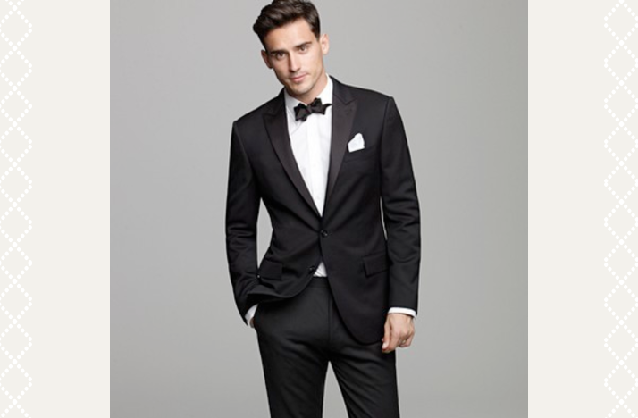 black tie groom mens formalwear weddings onewed
