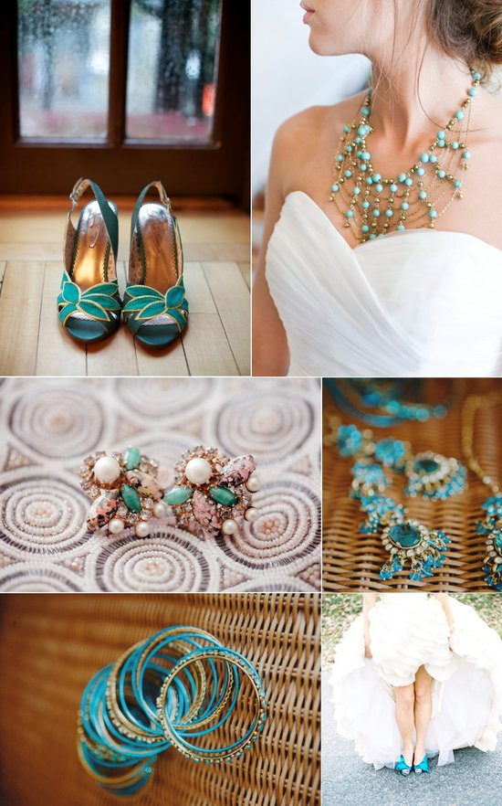 photo of Turquoise for Your Something Blue