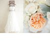 Romantic-pastel-wedding-white-wedding-dress-peach-flowers.square
