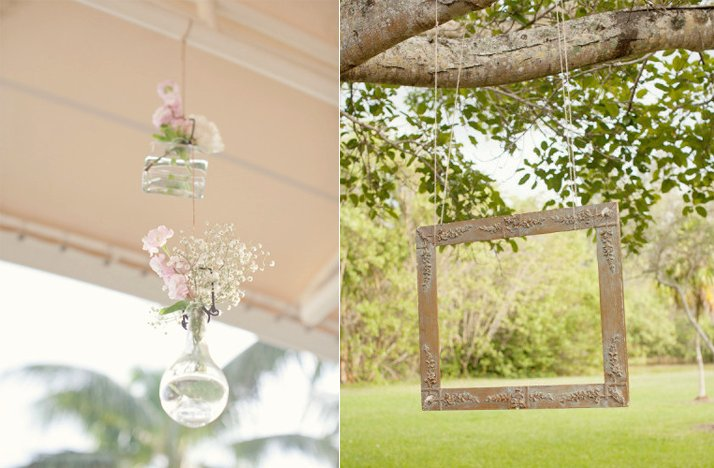 Romantic-spring-summer-wedding-outdoor-reception-hanging-centerpieces.full