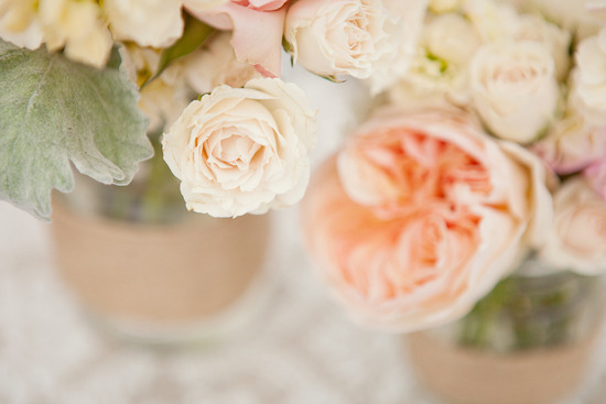 photo of Ethereal Wedding with a Peach and Ivory Palette