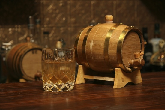 photo of Bluegrass Bourbon Barrel for groomsmen