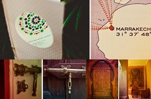 photo of marrakech wedding middle eastern wedding theme decor